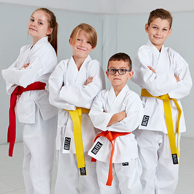 Karate Gi and Suits, Training Equipment, Gloves and Belts
