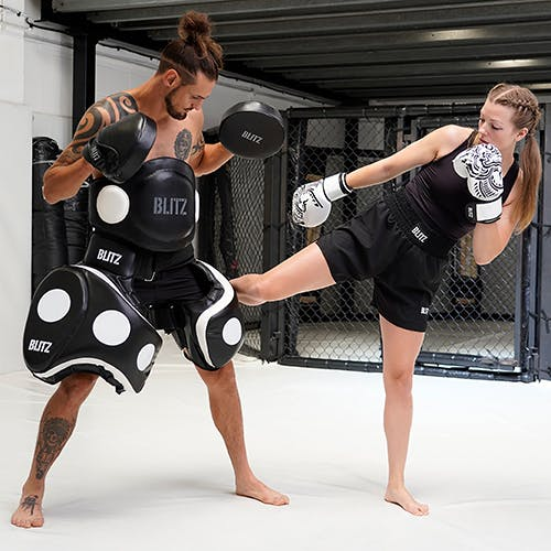 Kickboxing Equipment, Pads, Gloves and Shin Guards | Blitz