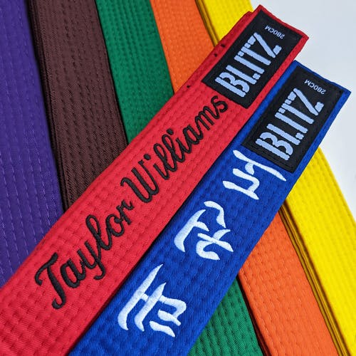 Personalised Student Belts