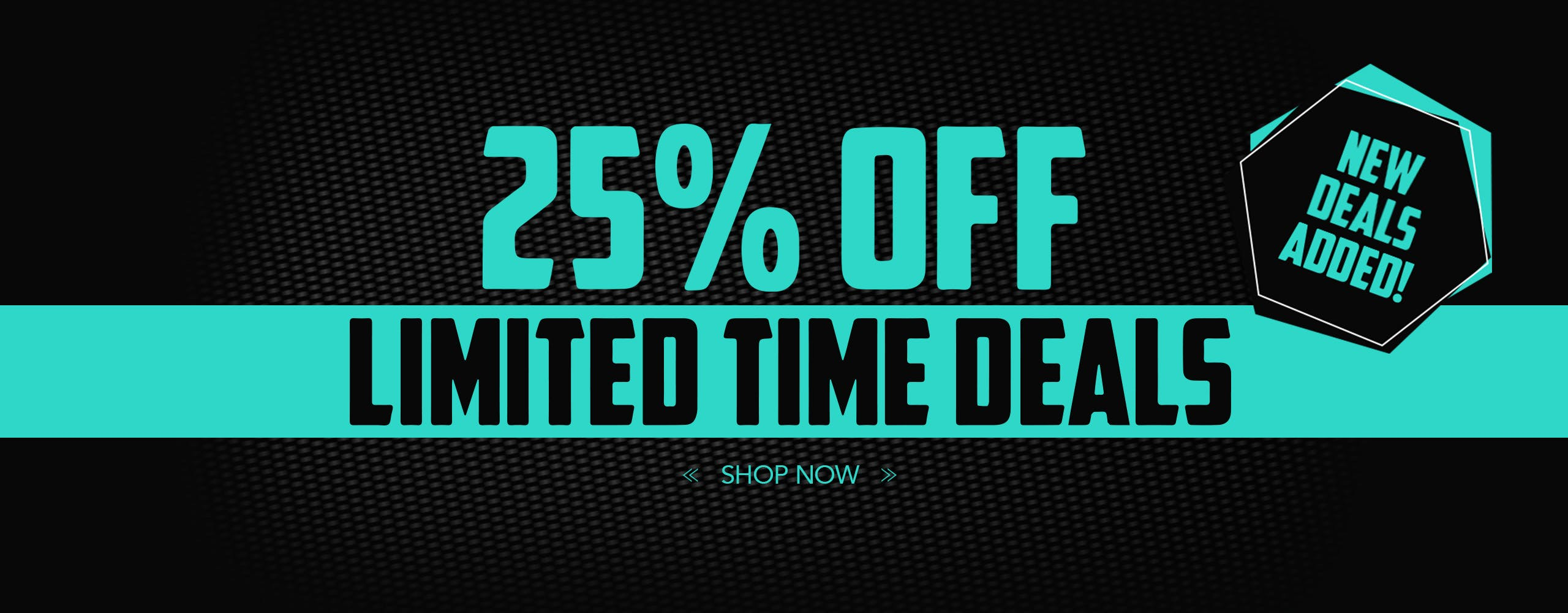Limited time offers now on!