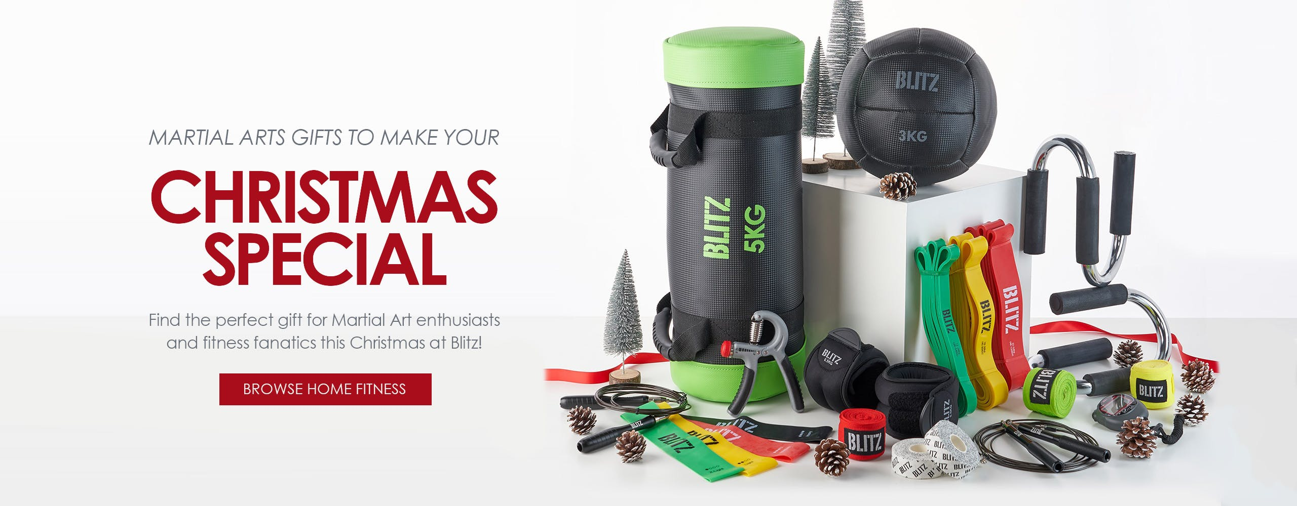 Find the perfect gift for Martial Art enthusiasts and fitness fanatics this Christmas at Blitz!