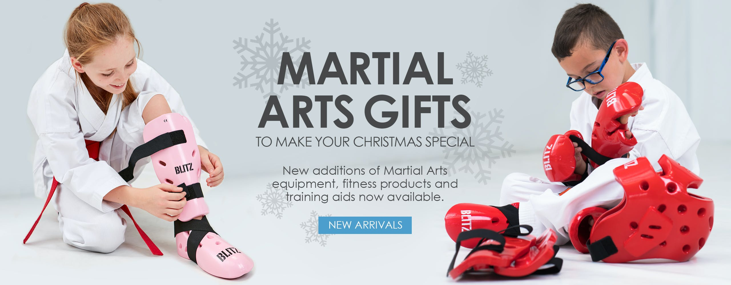 Perfect Martial Arts gifts to make your Christmas special. New additions of Martial Arts equipment, fitness products and training aids now available.