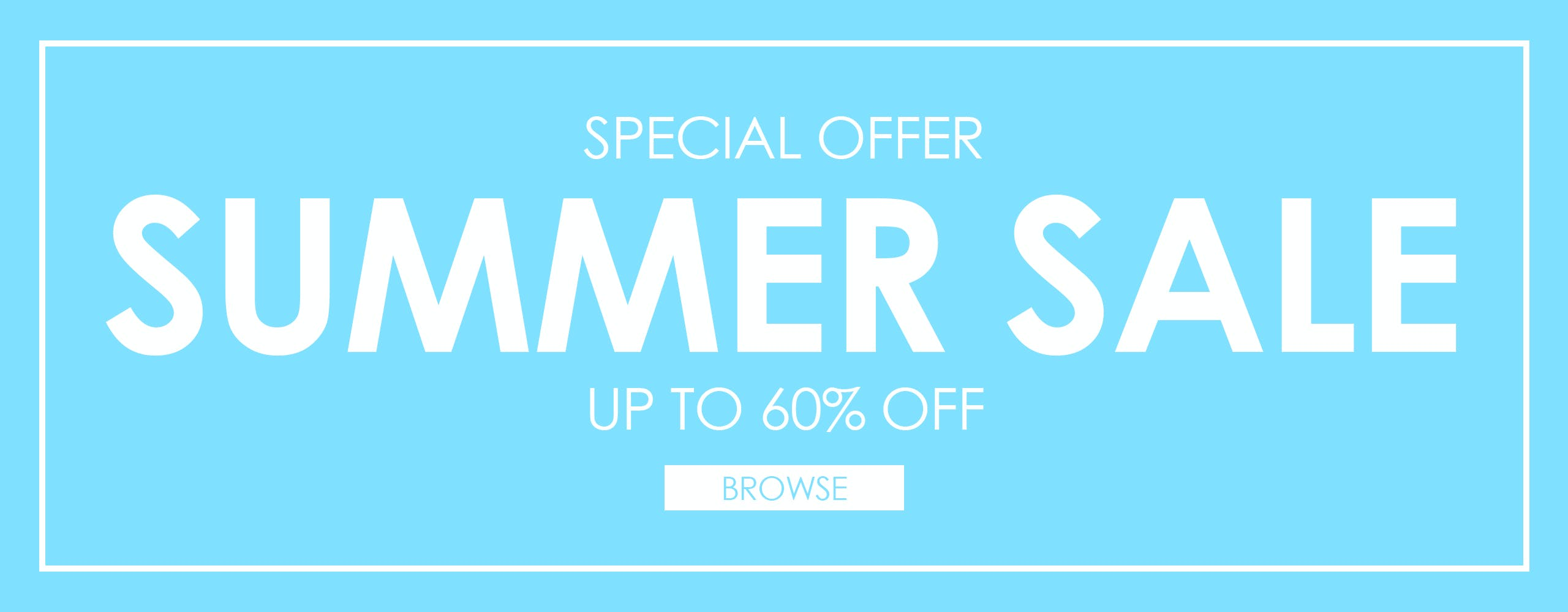 Blitz Summer Sale. Up To 60% OFF