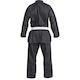 Adult Black Polycotton Taekwondo Suit - Back