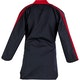 Adult Classic Polycotton Freestyle Top in Black / Red - Back