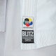 Adult Competition Lite WKF Approved Kumite Karate Suit - Detail D