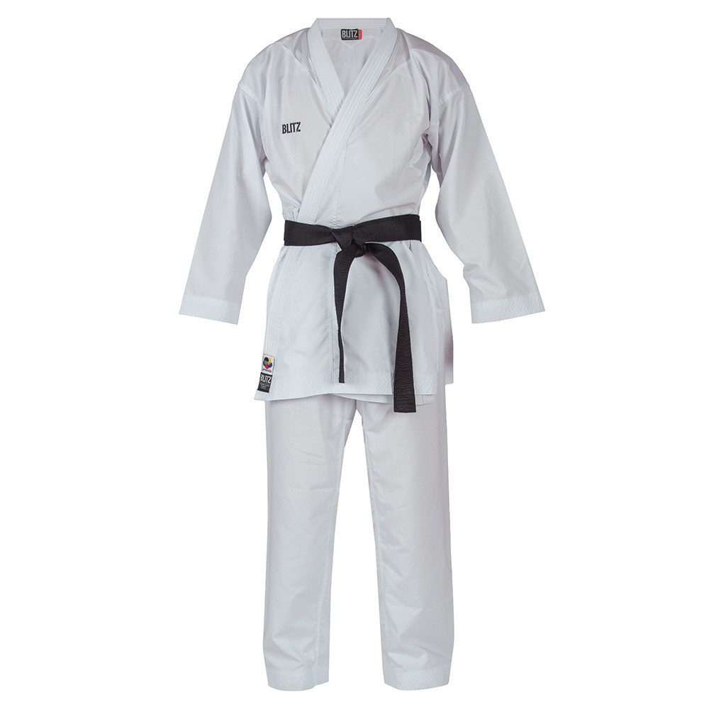 Image of Blitz Adult Competition Lite WKF Approved Kumite 8oz Karate Suit