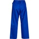 Adult Cotton Student Judo Pants in Blue - Back