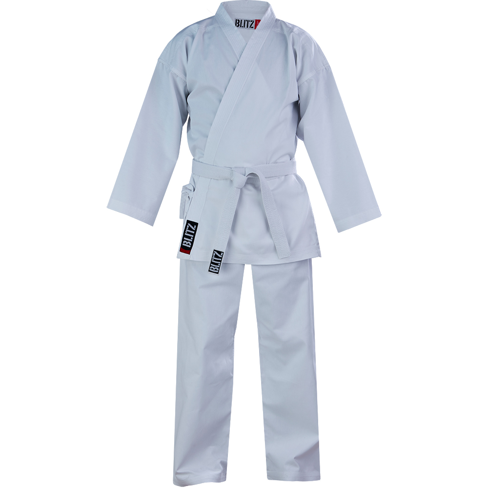Image of Blitz Adult Cotton Student 7oz Karate Suit