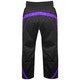 Adult Elite Full Contact Trousers in Black / Purple - Rear