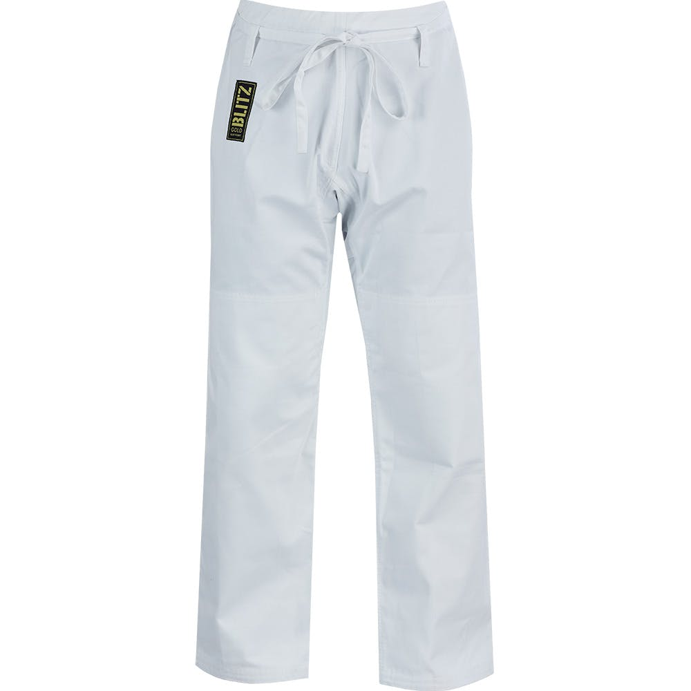 Image of Blitz Adult Gold Heavyweight Judo Trousers