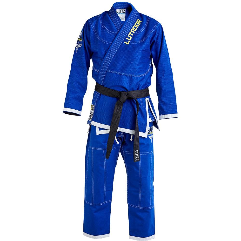 Adult Lutador Brazilian Jiu Jitsu Gi - Blue - 550g