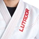 Adult Lutador Brazilian Jiu Jitsu Gi in White - Detail 1