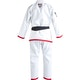 Adult Lutador Brazilian Jiu Jitsu Gi in White - Rear