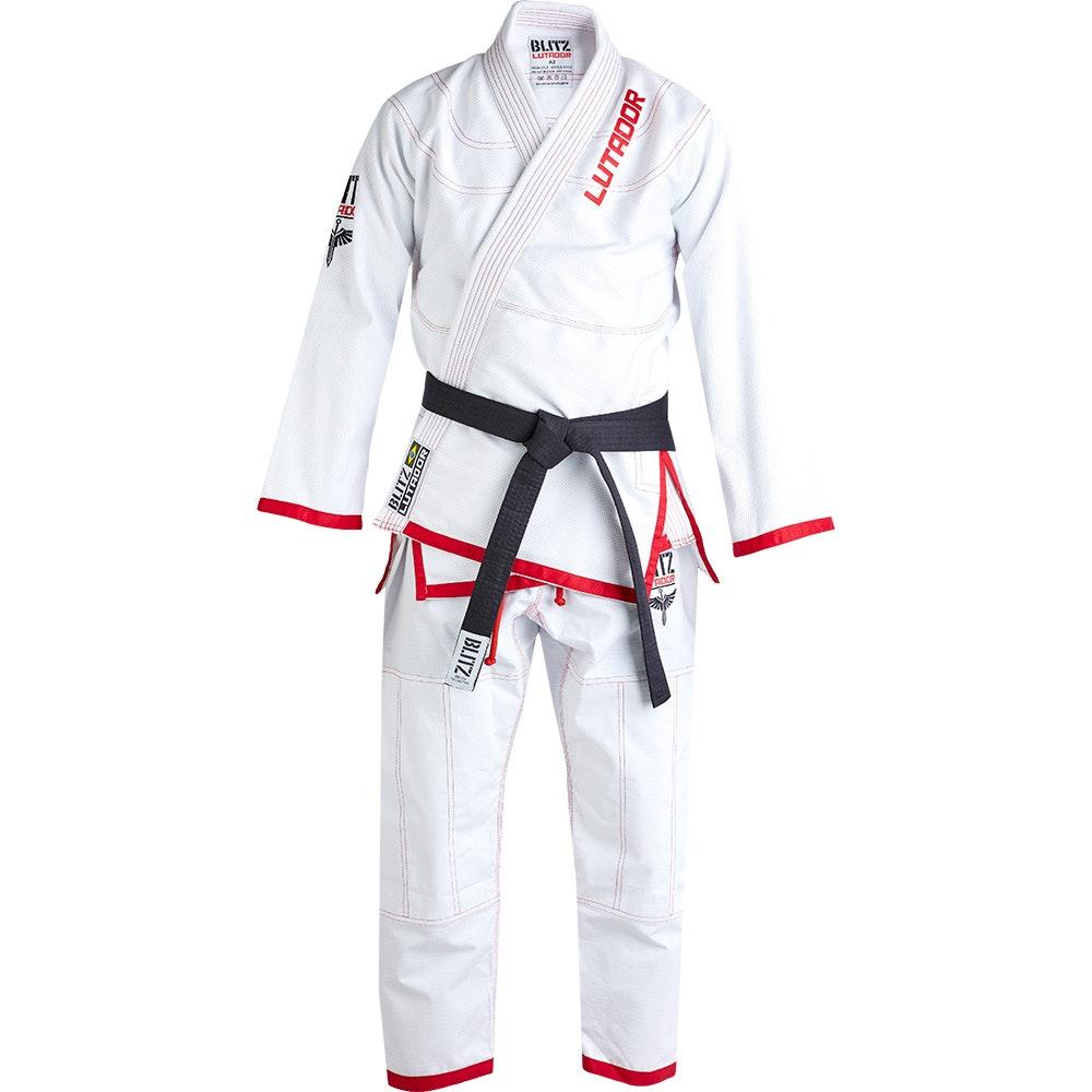 Adult Lutador 550gsm Brazilian Jiu Jitsu Gi - White
