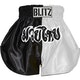 Blitz Adult Muay Thai Shorts - White / Black
