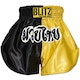 Adult Muay Thai Shorts - Yellow / Black