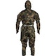 Adult Ninja Suit in Camouflage - Back