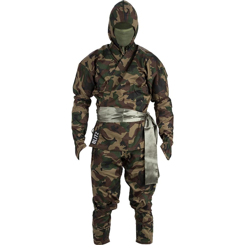 Adult Ninja Suit - Camouflage