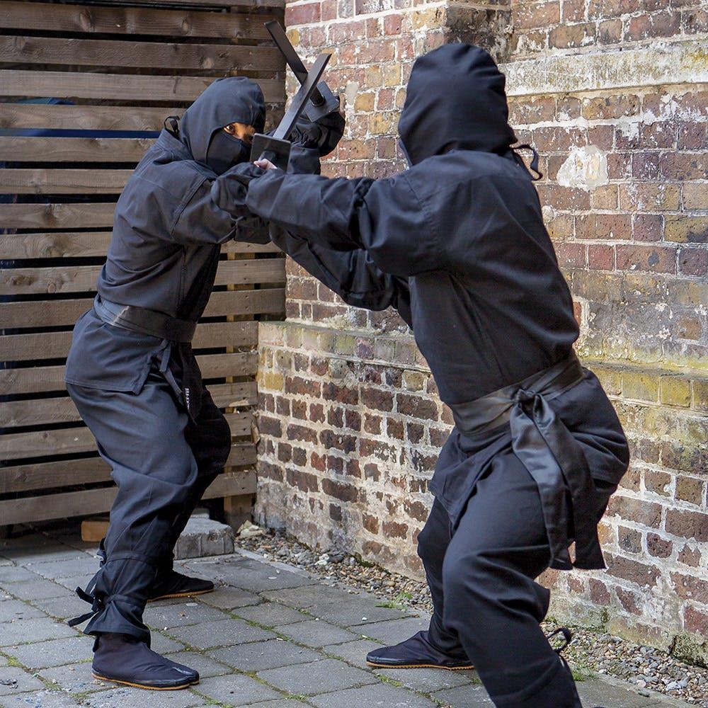 Battle Ropes For Sale >> Adult Ninja Suit, Black Ninja Costume