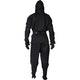 Adult Ninja Suit in Black - Rear