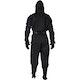 Adult Ninja Suit in Black - Rear