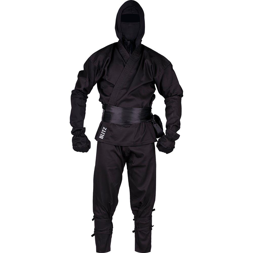 Adult Ninja Suit Black Ninja Costume