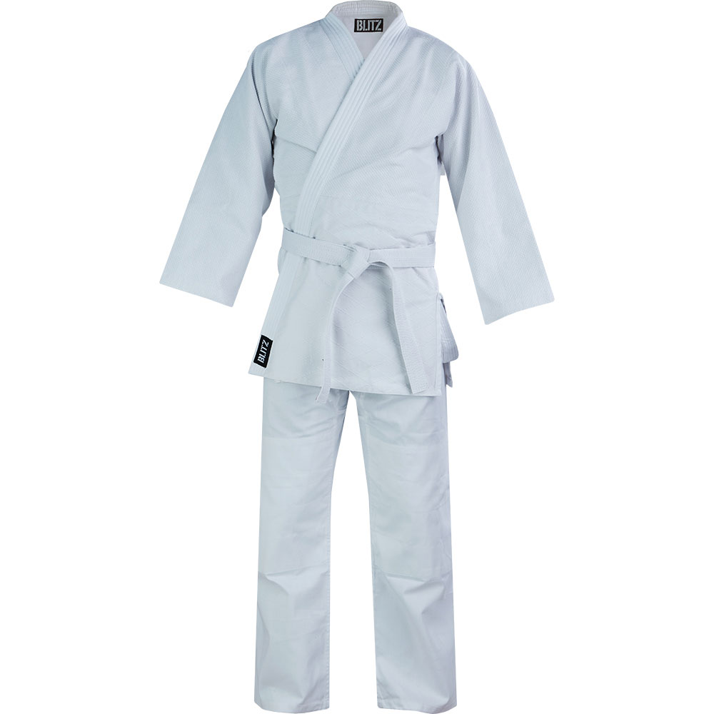 Image of Blitz Adult Polycotton Middleweight Judo Suit50gsm