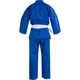 Adult Polycotton Student Karate Suit in Blue - Back