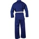 Adult Polycotton Student Karate Suit in Blue - Rear View