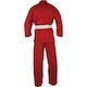 Adult Polycotton Student Karate Suit in Red - Rear View