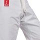 Adult Silver Tournament Karate Suit - Detail F