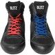 Adult Titan Boxing Boots in Black - Laces