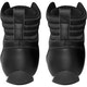 Adult Titan Boxing Boots in Black - Rear