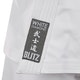 Adult White Diamond Karate Suit - Detail A