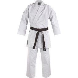 Blitz Adult White Diamond Karate Suit - 14oz
