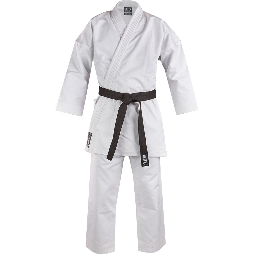 Adult White Diamond Karate Suit - 14oz