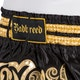 Badbreed Python Thai Shorts in Black / Gold - Details 2