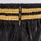 Badbreed Python Thai Shorts in Black / Gold - Details 3