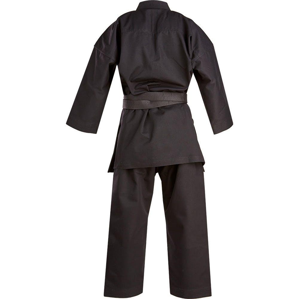 Battle Ropes For Sale >> Blitz Black Challenger Karate Suit - 14oz