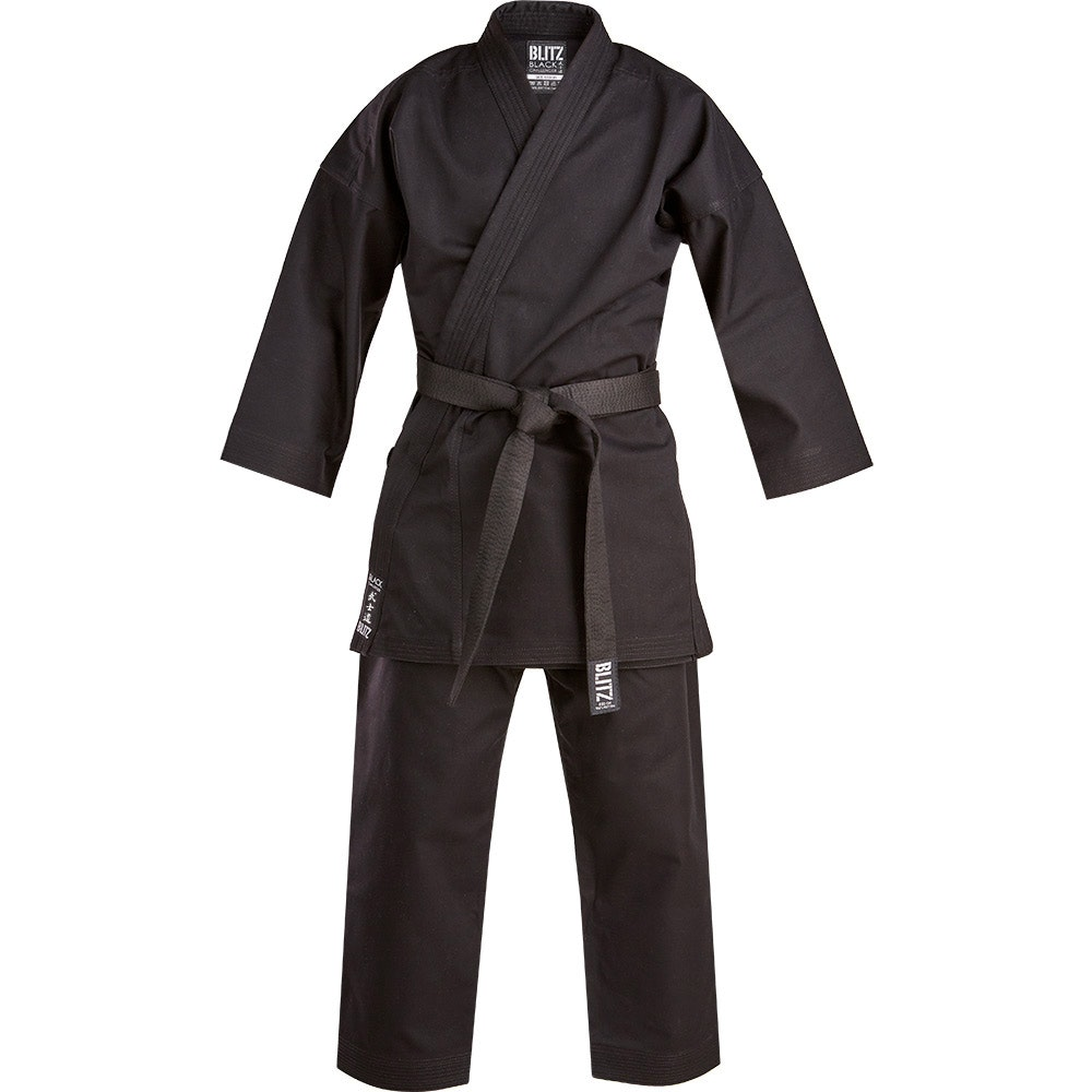 Black Challenger 14oz Karate Suit