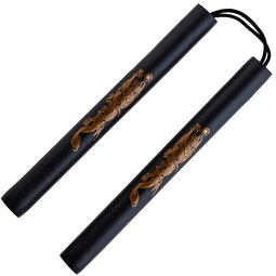 Blitz Black Foam Safety Cord Nunchaku