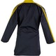 Blitz Adult Classic Freestyle Top in Black / Yellow - Back