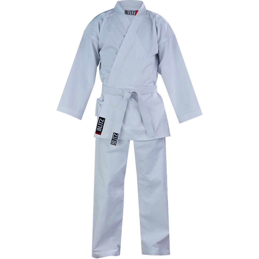 Image of Blitz Adult Cotton Student Karate Suit - 7oz