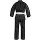 Blitz Adult Student 7oz Karate Suit in Black - Back