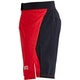 Blitz Falcon Training Fight Shorts in Red - Side