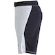 Blitz Falcon Training Fight Shorts in White - Side