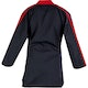 Blitz Kids Classic Freestyle Top in Black / Red - Back