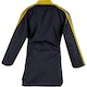 Blitz Kids Classic Freestyle Top in Black / Yellow - Back