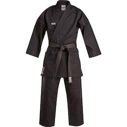 Blitz Special Offer Black Challenger Karate Suit - 14oz